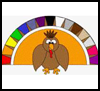 Colors   Turkey Paper Crafts  : Thanksgiving Turkey Crafts Ideas for Kids