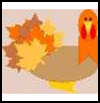 Maple   Leaves Turkey Craft    : Thanksgiving Turkeys Activities
