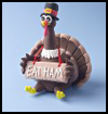 Goofy   Gobbling Turkey   : Thanksgiving Turkeys & Crafts for Children