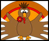 Handprint   Turkey Craft   : Thanksgiving Turkeys & Crafts for Children