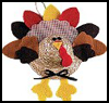 Straw   Hat Turket    : Thanksgiving Turkeys Activities