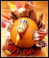 Gourd   Turkey   : Thanksgiving Turkeys & Crafts for Children