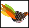 Pine   Cone Turkey Craft    : Thanksgiving Turkeys Activities
