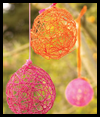 Yarn Eggs Craft for Kids