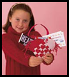 Woven Heart Basket Craft for Children