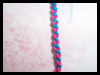 How to Make a Cross Knot Friendship Bracelet