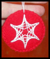 Felt Stitched Ornaments Craft