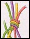 Floss Friendship Bracelet Yarn Craft for Kids