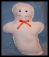 Learn to Sew Ghost Craft for Kids