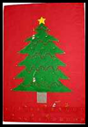 Felt Tree Advent Calendar Craft