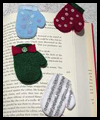Mitten Bookmark Felt Clip Craft for Kids