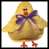 No-Sew Felt Bean Bag Chick Craft for Kids - Great for Easter