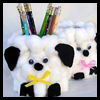 Fluffy Tin Can Lamb Craft for Kids