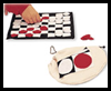 Felt Checkers Game