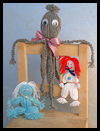 Yarn Doll Family Fun Craft for Kids : Yarn Doll Family Fun