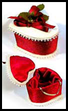 Satin Heart Box Craft