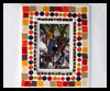Mosaic Felt Family Frame Craft for Kids