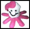 Octopus Sock and Felt Craft for Kids