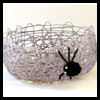 Miss Spider's Treat Basket Craft for Halloween