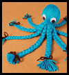 Yarn Octopus Craft from FamilyFun