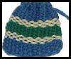 Woven Change Purse Craft with Yarn for Kids