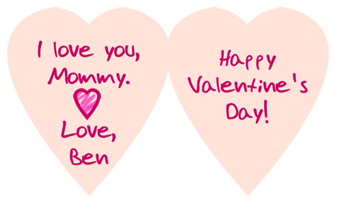 Valentines Day Ideas For Kids. Valentine#39;s Day Card