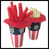 Uncle   Sam Hat Treat Holders