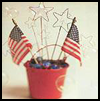 Patriotic   Bubble Wands   : Veteran's Day Crafts Activities for Children