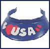 Decorated   Visors for Kids  : Veteran's Day Crafts Ideas for Kids