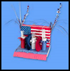 Patriotic   Picnic Centerpiece  : Patriotic Arts and Crafts Projects