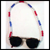 Beaded   Sunglasses Holder  : Veteran's Day Crafts Ideas for Kids