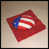 Painted   Rock Napkin Holder   : Veteran's Day Crafts Activities for Children