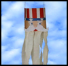 Uncle   Sam Windsock Craft