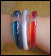 Patriotic   Water Bracelets  : Patriotic Arts and Crafts Projects