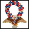 Bald   Eagle Wreath  : Veteran's Day Crafts Ideas for Kids