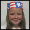 Patriotic   Parade Hat  : Patriotic Arts and Crafts Projects
