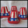 Miniature   Uncle Sam Hats   : Veteran's Day Crafts Activities for Children