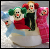 Snow    Family Finger Puppets for Winter