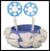 Winter    Crown or Ha: Winter Snow Crafts for Kids