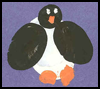Fingerprint    Penguin Craft  : Winter Crafts Activities with Penguins