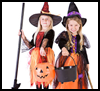 Witch Costume Crafts Idea for Kids