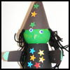 Paper Cup Witch Crafts Directions for Children