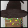 Paper Bag Witch Crafts Activity Directions for Children