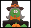 Witch Box for Halloween Craft Idea for Kids
