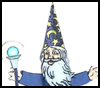 Wizard Toilet Paper Roll Craft for Kids