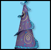 Whirl & twirl party hats