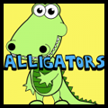 How to Draw Cartoon Crocodiles and Alligators