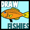 How to Draw Cartoon Fishies