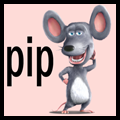 How to Draw Pip Mouse from Barnyard