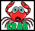 How to Draw Cartoon Crabs